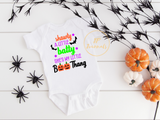 Halloween SVG File, Shawty A Little Batty She's My Little Boo Thang, Baby Toddler Halloween SVG File, Halloween SVG for Baby Toddler