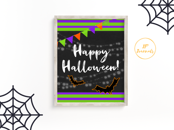 Free Halloween Decor Print