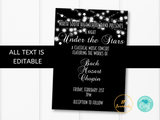 Under the Stars Band Recital Concert Invitation Template - Printable Invite - High School Band Concert, City Concert, Choir Concert, Recital