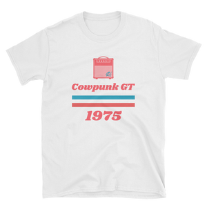 892cd818a11 Cowpunk GT 1975 Retro Amp Short-Sleeve Unisex T-Shirt in black or white