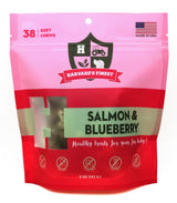 HF HARVARD'S FINEST Healthy Grain Free Treats - 3 PACK- Peanut Butter & Banana, Chicken & Apple, Salmon & Blueberry
