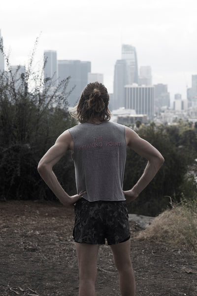 Dennis Ogburn after running in Los Angeles