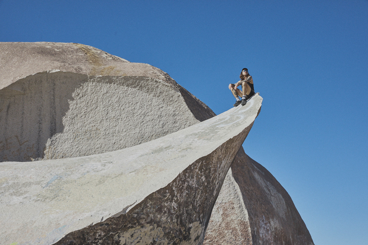Max Jolliffe on Giant Rock