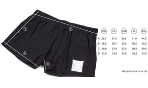 "Long Distance 2,5"" Shorts"
