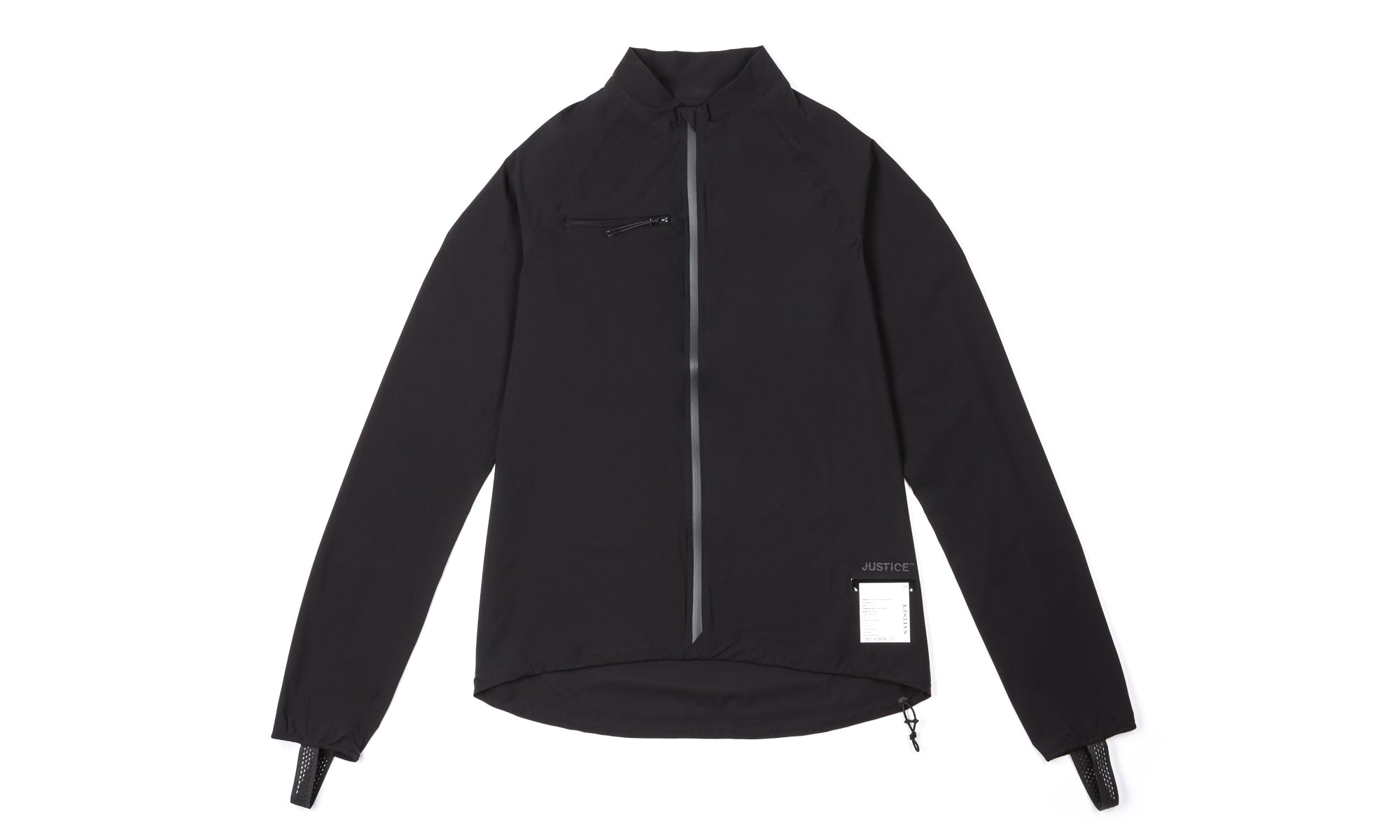 Justice Running Jacket - Front