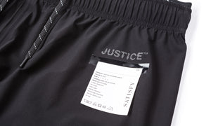Justice Running Pants - Label