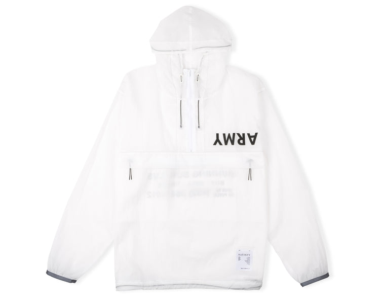 Anorak - Clear White - Front