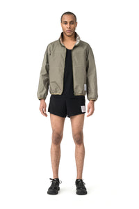 Reversible 2L-Mylar Jacket - Army - Model Front