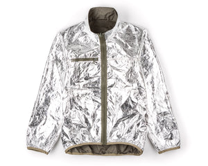 Reversible 2L-Mylar Jacket - Army - Inside Front