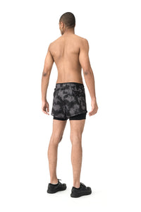 "Long Distance 3"" Shorts - Model back"