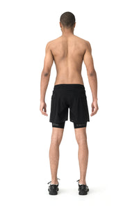 "Justice Trail Long Distance 10"" Shorts - Model back"