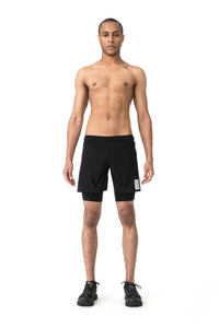 "Justice Trail Long Distance 10"" Shorts - Model front"