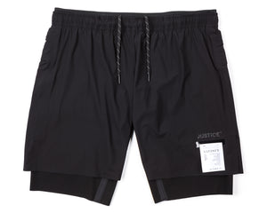 "Justice Trail Long Distance 10"" Shorts - Front"