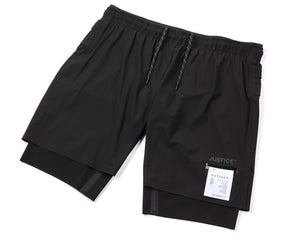 "Justice Trail Long Distance 10"" Shorts - Frontside"