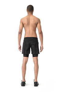 "Trail Long Distance 10"" Shorts - Model back"