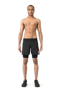 "Trail Long Distance 10"" Shorts - Model front"