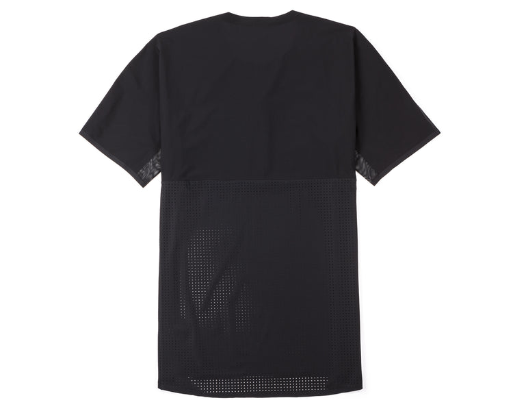 Justice Trail Tee - Black - Back