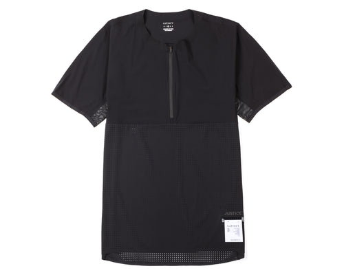 Justice Trail Tee - Black - Front