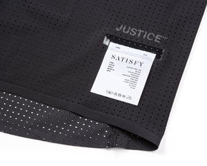 Justice Trail Tee - Black - Label
