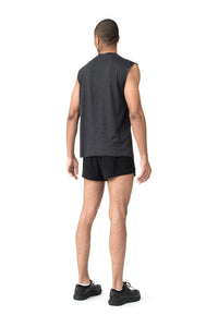 Cloud Merino 100 Muscle Tee - Model back side