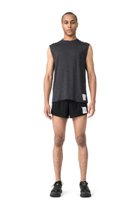 Cloud Merino 100 Muscle Tee - Model front