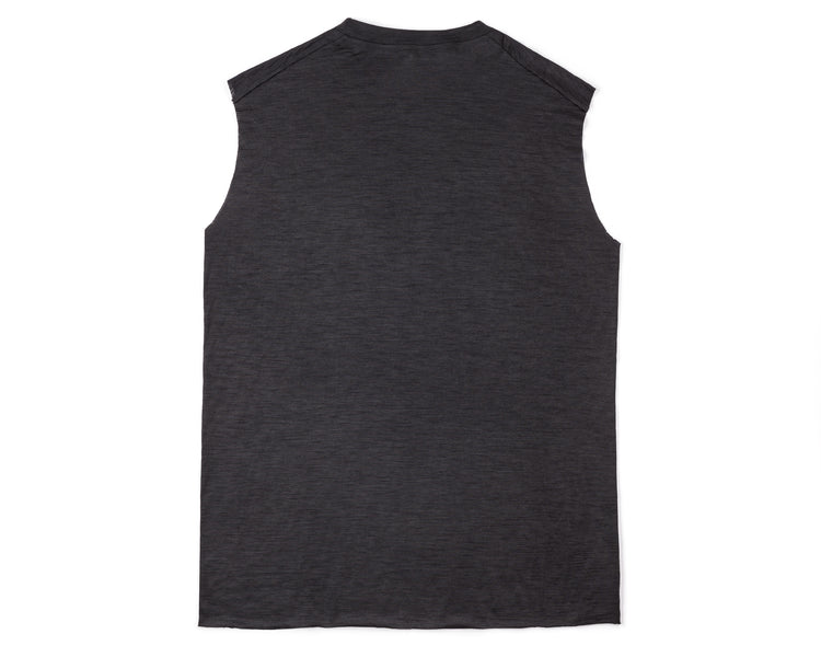 Cloud Merino 100 Muscle Tee - Back