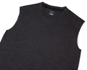 Cloud Merino 100 Muscle Tee - Frontside