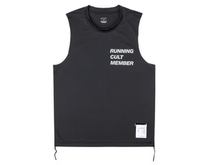 Light Muscle Tee - Black - Front