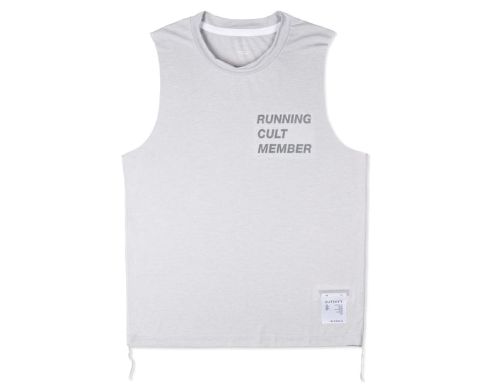 Light Muscle Tee - Light Grey - Front