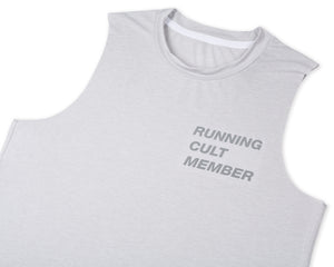 Light Muscle Tee - Light Grey - Front Side