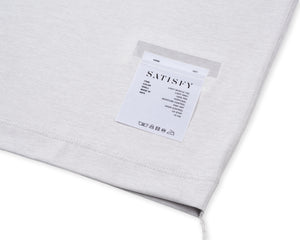 Light Muscle Tee - Light Grey - Label