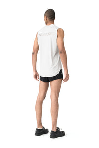 Light Muscle Tee - Model Back