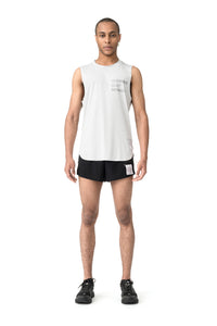 Light Muscle Tee - Model Front