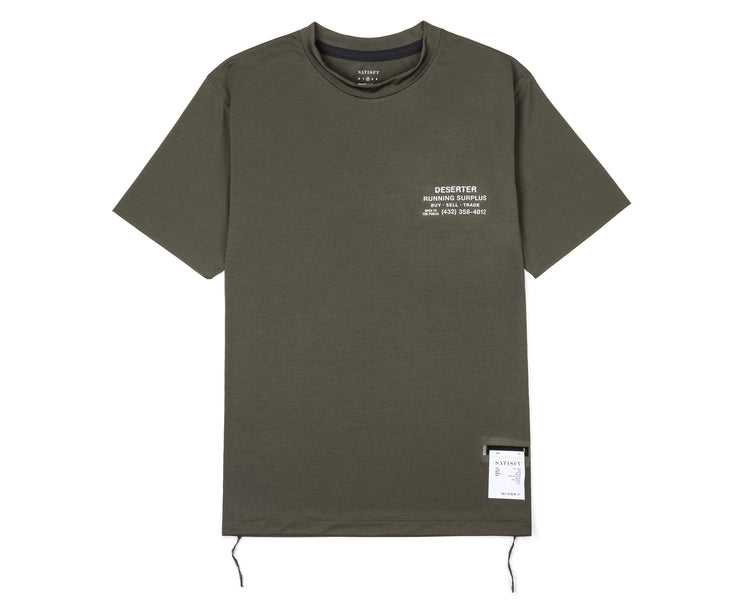 Light T-Shirt - Army - Front