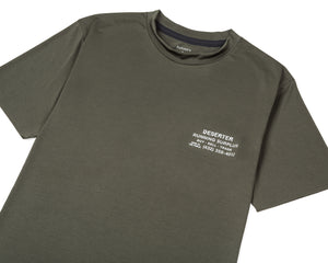 Light T-Shirt - Army - Front Side