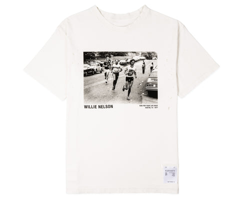 Willie Moth Eaten Tee - Front