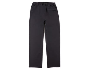 Post Run and Hiking Trousers - Black - Back