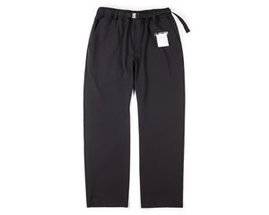 Post Run and Hiking Trousers - Black - Front