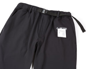 Post Run and Hiking Trousers - Black - Front side