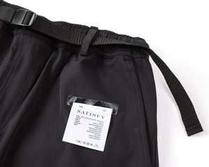 Post Run and Hiking Trousers - Black - Label