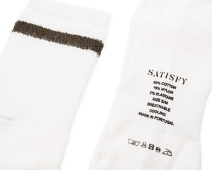 Reverse Tube Socks - Army Stripe - Label
