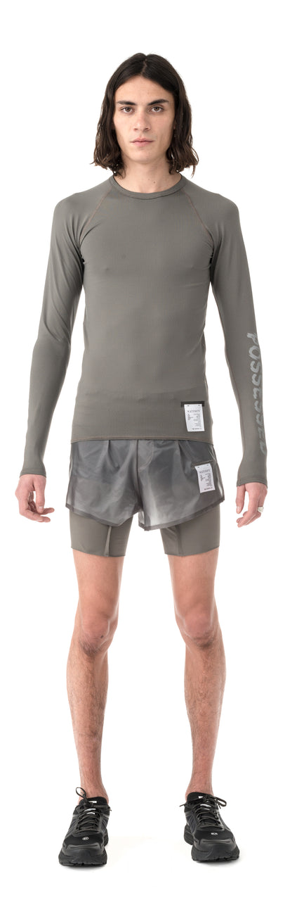 Coffee Thermal Base Layer - Bronze - Model Front