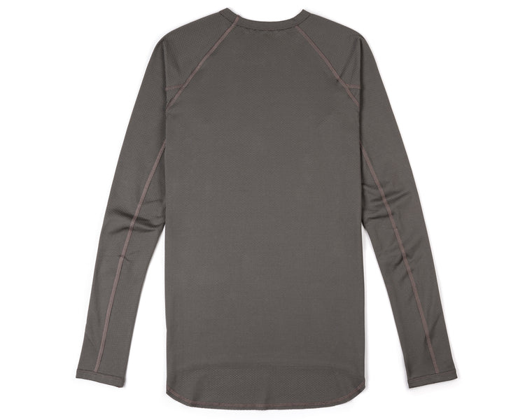 Coffee Thermal Base Layer - Bronze - Back