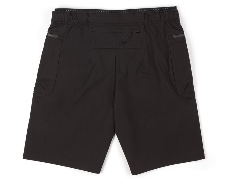 "Justice™ Merino 8"" Shorts - Black - Back"