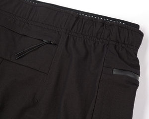 "Justice™ Merino 8"" Shorts - Black - Back Pocket"