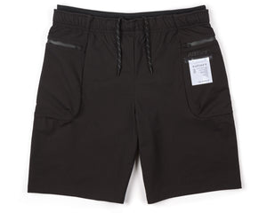 "Justice™ Merino 8"" Shorts - Black - Front"