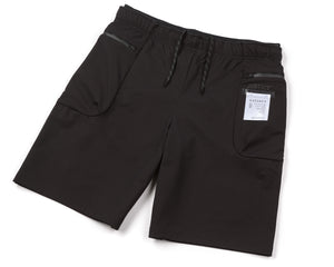 "Justice™ Merino 8"" Shorts - Black - Front Side"