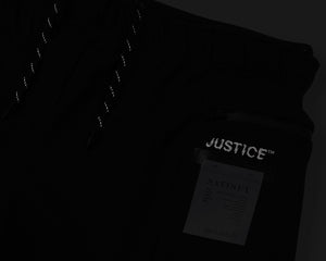 "Justice™ Merino 8"" Shorts - Black - Reflective"