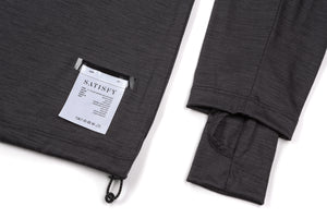 2-Layer Cloud Merino 100 Rolled Neck