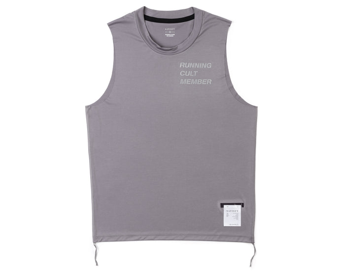 Light Muscle Tee - Steel - Front